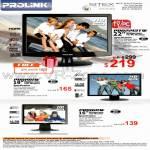 Prolink LCD Monitor PRO 2213TW 1911W 1611W TV