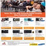 Digital Cameras ST550 ST500 ST45 ES17 ES60 WB1000 WB550 PL70