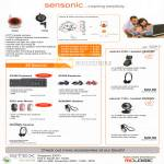 Sensonic CCTV VC40 VC50 Webcam Camera 6100 Keyboard Mouse Earphone Headset