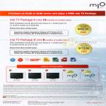 Mio TV Package LG Booth