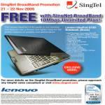 Singnet Broadband 10Mbps Lenovo IdeaPad U150