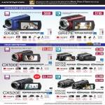 HandyCam Video Camcorder SX40E SR47E CX100E XR200E CX520E XR520E