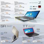Vaio Ultimate Mobile Z Series SR Series TT Series
