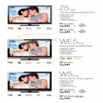 Z5 WE5 W5 Series Bravia LCD TV