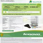 Starhub Lenovo IdeaCentre Q110 Desktop PC Specifications