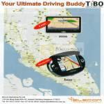 TiBO GPS Navigation System B5000 A4050 Elecom
