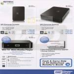 WD Elements Portable Desktop External Storage TV Mini Media Player