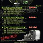 Gaming PC Desktops Red Force Black Force Xtreme Force
