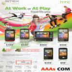 AAAs Mobile Phones HTC Wildfire Desire Z HD Mini Smart