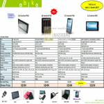 Android PAD A10 A8 A7 A2 MID Touch Tablet