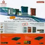 Iomega External Storage Superspeed EGo Skin Select Portable Prestige