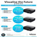 Infocus Projectors IN102 IN104 IN105