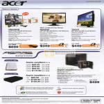 LCD Monitors HS244HQ H243HX T231H External Storage Aspire EasyStore P110 D110 H340 01