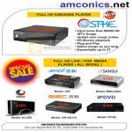 Amconics Osake Media Player Amoi V6T Sansui DMA 228A Giec IPDVD KJ 200 IP10A