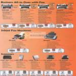 Printers Business MX328 MX347 MX357 MX876 Inkjet JX210P JX510P Scanners Lide 100 200 700F CS 5600F CS 9000F