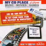 My CD Place COM Music Movies Games Used CD Store