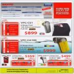 Sanyo Virus Washer VPC CS1 CA100 Video Camcorder PD1 CG11