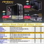 Antec Casing Power Supplies PSU Cooler Power Tester Fans Sonata P183 Signature SmartCool