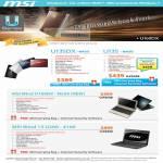 MSI Notebooks U Series U135DX U135 Wind U160DX N550 12 U200 4100