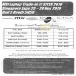 PC Dreams MSI Notebook Trade In