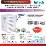 Aztech WL556E Wireless N Extender Repeater