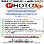 Red Dot Photo Free Photography Workshop Training