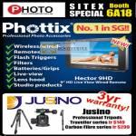 Red Dot Photo Phottix Photo Accessories Jusino Tripod Traveller Carbo Fibre