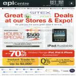 Epicentre Apple IPad Hourly Special