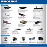 Fida Prolink ADSL Modem Router Wireless N HSPA HSDPA Powerline Adapter Ethernet Print Server Webcam