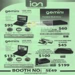 Gemini Live View 7500 DVD Writer External 9500 Scanner Media Player