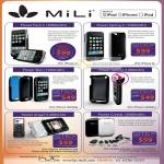 Mili Power Pack 4 Spring Skin Angel Crystal Charger IPhone IPad IPod