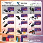 ITech Bluetooth Headsets IPhone Clip II Mini Naro MyVoice VoiceClip IOval Battery Packs Power App X