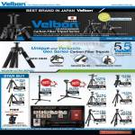 Velbon Carbon Fiber Tripod Geo Ultra Pole Pod Luxi Maxi