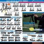 Velbon Tripods CX DF Monopods Geo Vpod Pan Ball Heads FHD QHD PHD Accessories