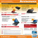 Notebooks Thinkpad Edge 14 B460 X201i T410i Trade In