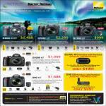 Digital Cameras DSLR D300s D7000 D3100 Kit Body D5000 D90