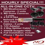 Hourly Special MD Weatherproof Cameras Dome Network DVR