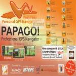 Professional GPS Navigator SEA Country Maps M3 Asia