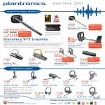 Plantronics Ban Leong Bluetooth Mobile Headsets Discovery 975 Graphite Silver Explorer Backbeat Audio DSP