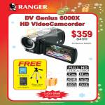 DV Genius 6000X Video Camcorder