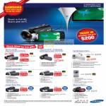Audio House Video Camcorders HMX S15 S10 M20 T10 H204 H200 U20 F44 F40 C20