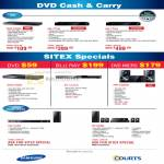 Courts DVD Players Blu Ray Micro C550 773A 775A HT HW Living Room