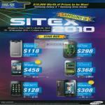 Mobile Phones S3600i B5722 Wave 723 Galaxy 3 Monte Slider Wave 533