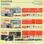 Fujifilm Digital Cameras Finepix JX200 F80 EXR F300