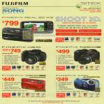 Fujifilm Digital Cameras Finepix Real 3D W3 HS10 S2800 Z800 XP10