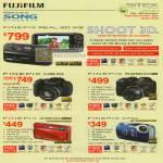 Fujifilm Digital Cameras Finepix Real 3D W3 HS10 S2800 Z800 XP10