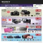 Digital Cameras DSLR Alpha Handycam A33L A33 NEX 5D T99 CX150