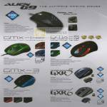 Powerlogic Alien G9 Gaming Mouse GMX Predator GXR5 GXR6