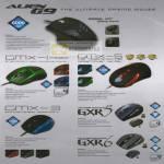 Powerlogic Mouse Alien G9 Avago Gaming GMX Predator Terminator GXR5 GXR6