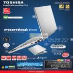 Notebooks Portege R600 D266
